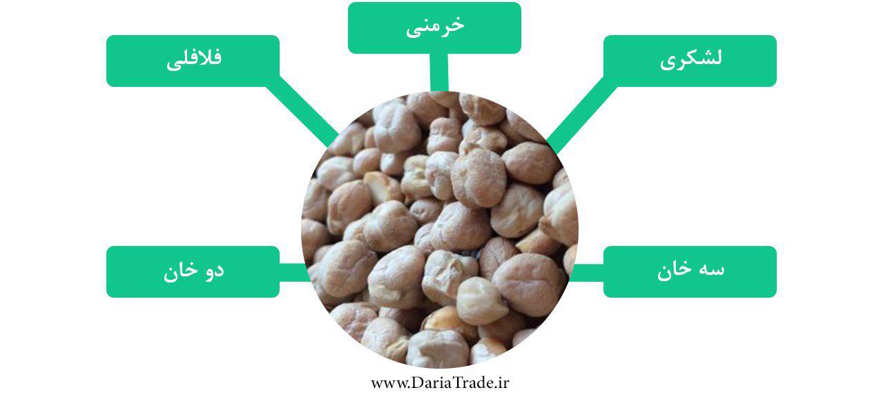 صادرات نخود ایران