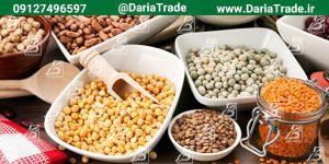 صادرات انواع حبوبات