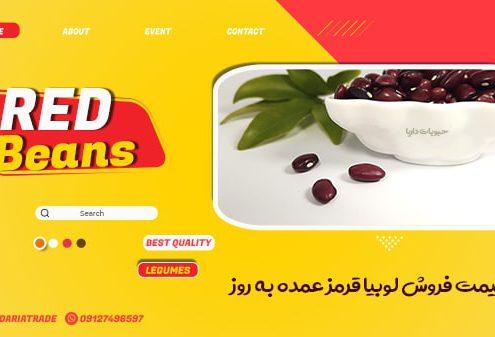 فروش عمده لوبیا قرمز